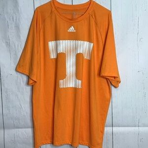 Adidas Tennessee Climalite Short Sleeve Size 2XL